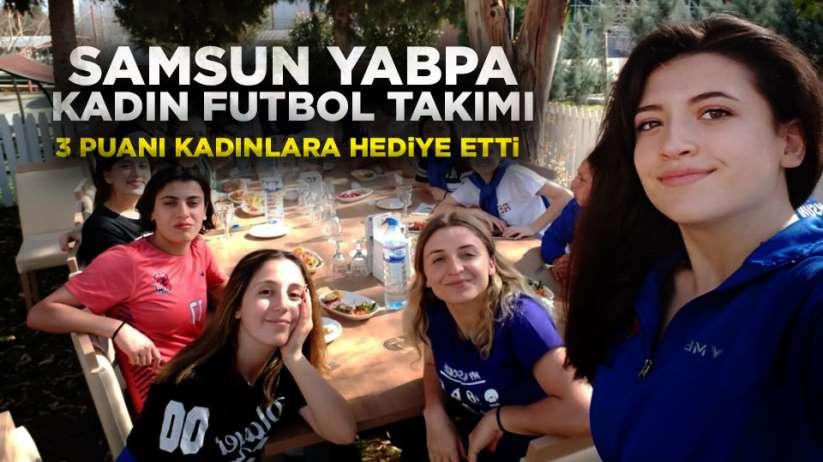 YABPA Kadın Futbol Takımı 3 puanı aldı