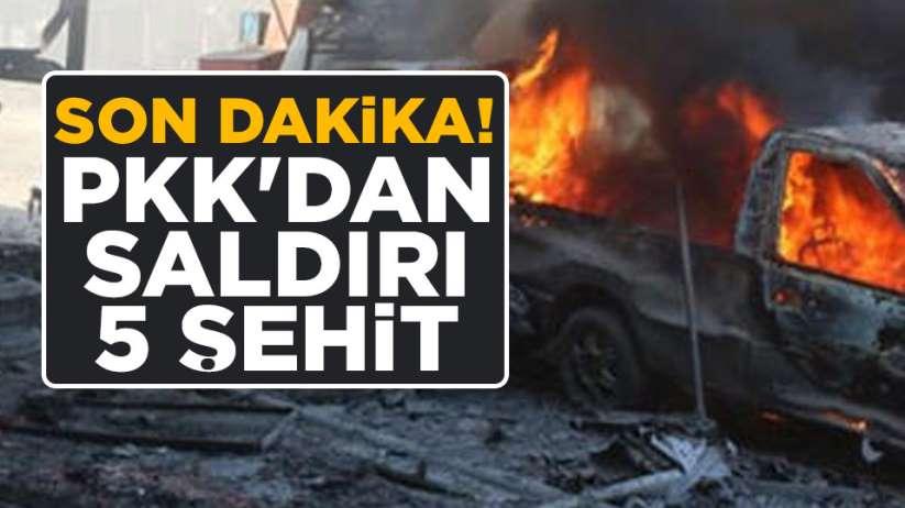 PKK Diyarbakır'da köylere saldırdı