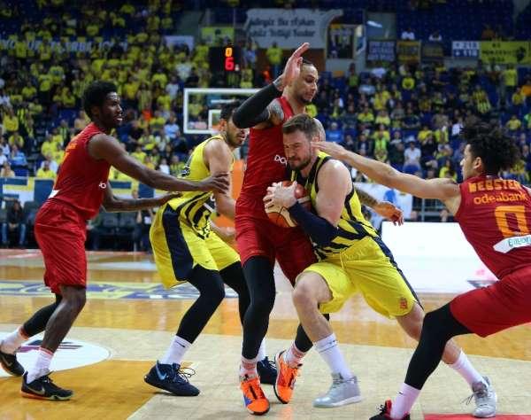 Tahincioğlu Basketbol Süper Ligi: Fenerbahçe Beko: 90 - Galatasaray Doğa Sigorta