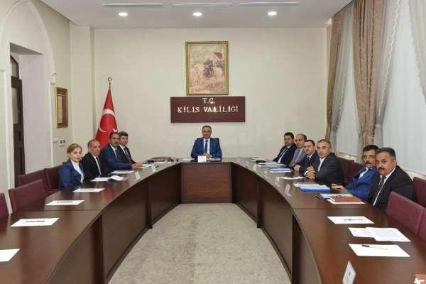 Vali Soytürk başkanlığında tahsisat komisyonu toplandı