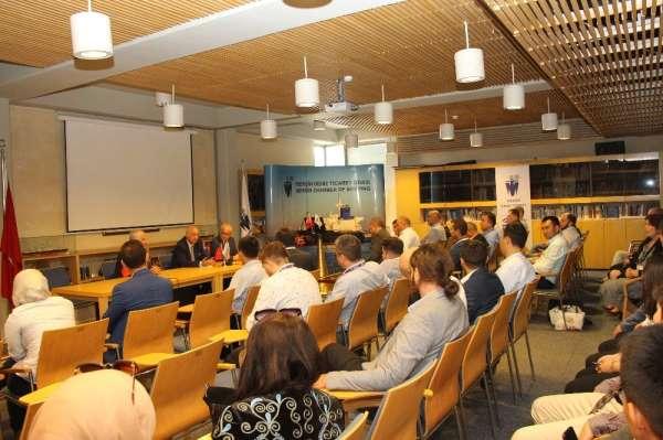 Türkçe konuşan girişimciler, işbirliği için MDTO'yu ziyaret etti