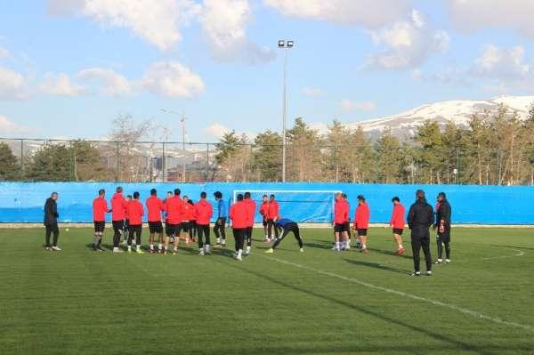 BB Erzurumspor, Yeni Malatyaspor maçı hazırlıklarını sürdürdü