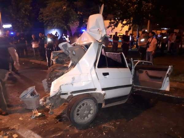 Son dakika ! Şanlıurfa'da Zincirleme kazada araçlar hurdaya döndü