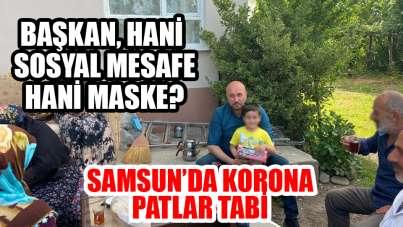Hasan Togar için Samsun'da korona bitti