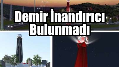 Samsun Büyükşehir Belediye Başkanı Mustafa Demir İnandırıcı bulunmadı