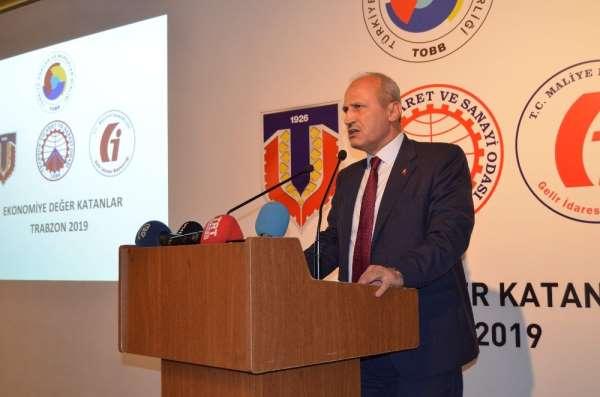 Trabzon'da 'Ekonomiye Değer Katanlar Ödül Töreni'