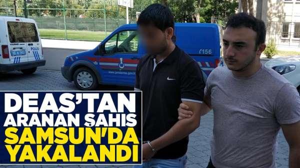 DEAŞ'tan aranan şahıs Samsun'da yakalandı