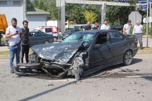 Ordu'da trafik kazası: 3 yaralı
