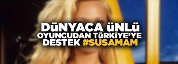 Pamela Anderson Susamam adlı şarkıyı paylaştı