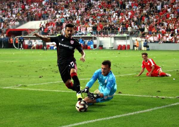 Samsunspor: - Pendikspor maç sonucu Tıkla öğren