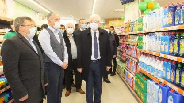 Tarım Kredi Kooperatifi Burhaniyede market açtı