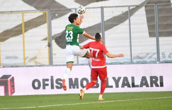 TFF 1. Lig: Bursaspor: 0 - Ankara Keçiörengücü: 3