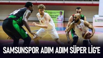 Samsunspor Adım Adım Süper Lig'e