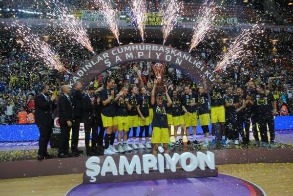 27. Kadınlar Cumhurbaşkanlığı Kupası: Fenerbahçe: 86 - Çukurova Basketbol: 62
