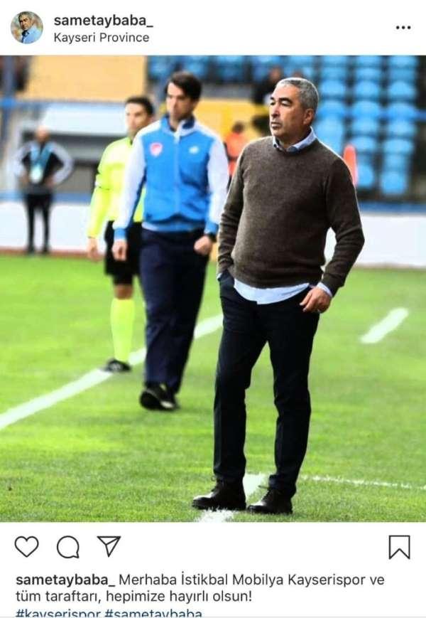 Samet Aybaba Kayserispor'u açıkladı