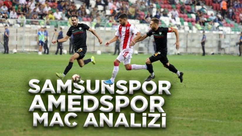 Samsunspor Amedspor Maç Analizi - Belki De Lig Bitti