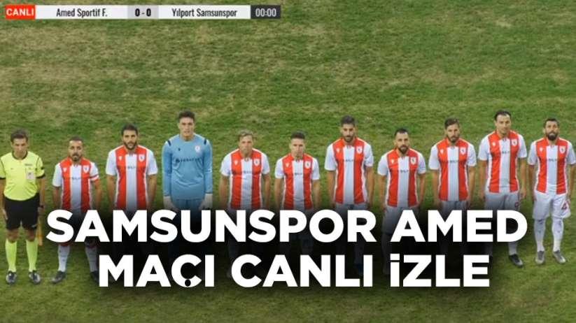 Samsunspor Amedspor maçı ücretsiz canlı izle