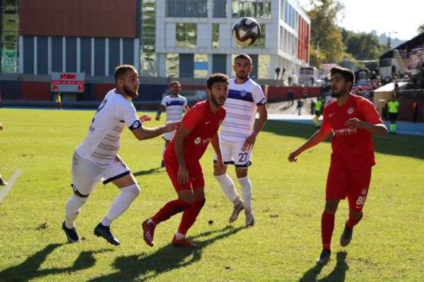 TFF 2. Lig: Zonguldak Kömürspor: 0 - Hacettepe: 0