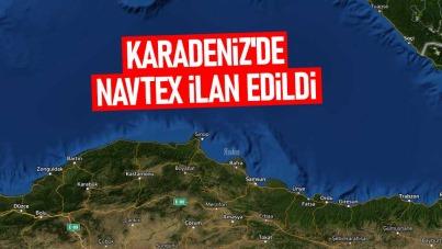 Karadeniz'de NAVTEX ilan edildi
