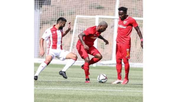 Kayserispor Gençlerbirliği ile hazırlık maçı oynayacak