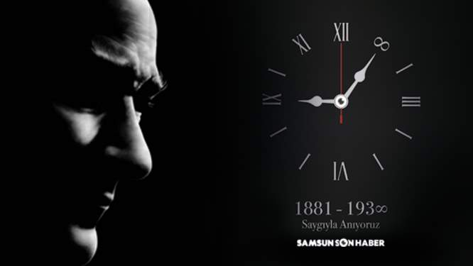 Ulu Önder Atatürk'ü saygıyla anıyoruz...