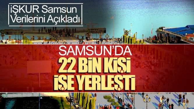 Samsun'da 22 Bin Kişi İşe Yerleşti