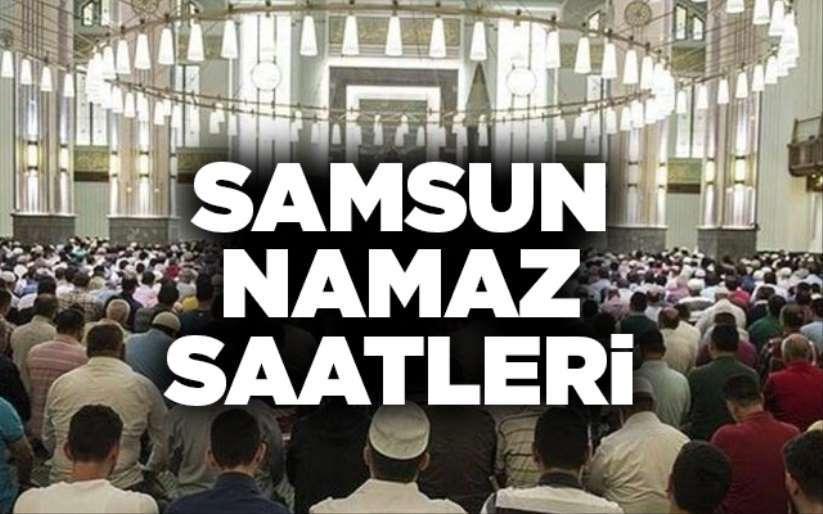 9 Kasım Samsun'da Namaz saatleri, Ezan kaçta okunuyor?
