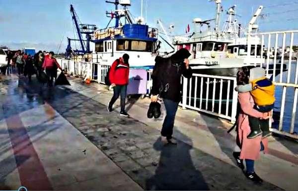 Çeşme'de ölüme yolculukta 85 göçmen yakalandı