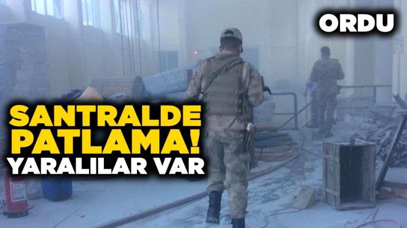 Karadeniz'de santralde patlama!