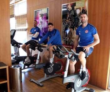 Antalyaspor, kamp çalışmalarını sürdürüyor