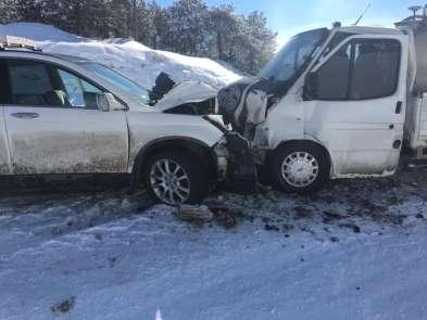 Aslanapa'da trafik kazası: 5 yaralı