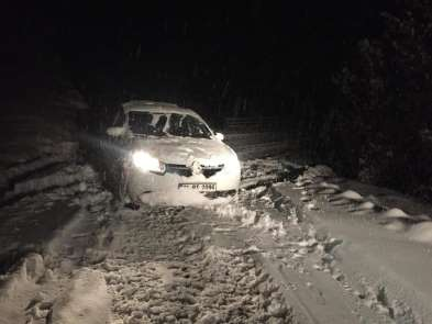 Ordu'da 604 mahalle yolu ulaşıma kapalı