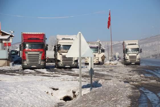 Samsun Haberleri: Samsun-Ankara yolunda Trafik Normale Döndü!