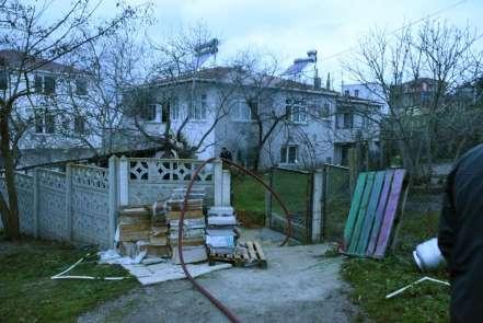 Sinop'ta yangın: 1 kedi telef oldu