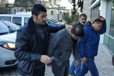 Kumar baskınında polise direnip tehdide 2 gözaltı