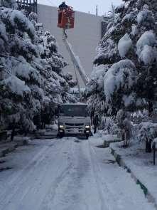 300 ekip 176 araçla yoğun kış şartlarıyla mücadele ediyor