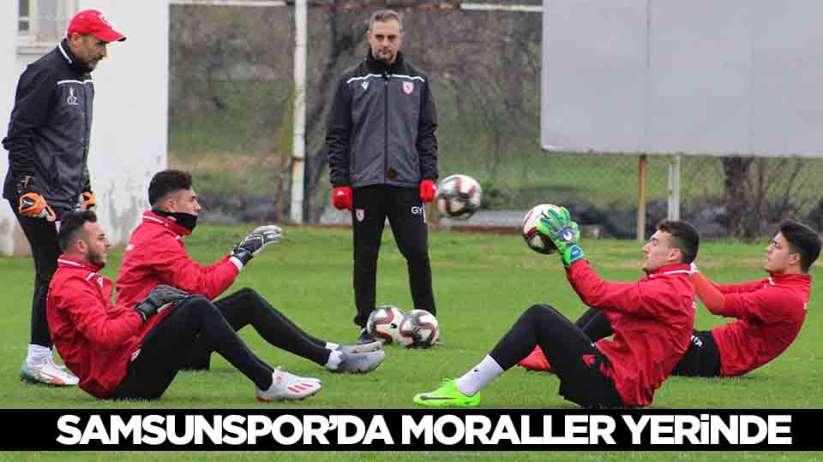 Samsunspor'da sakatlıkları bulunan 3 futbolcu antrenmana katılmadı