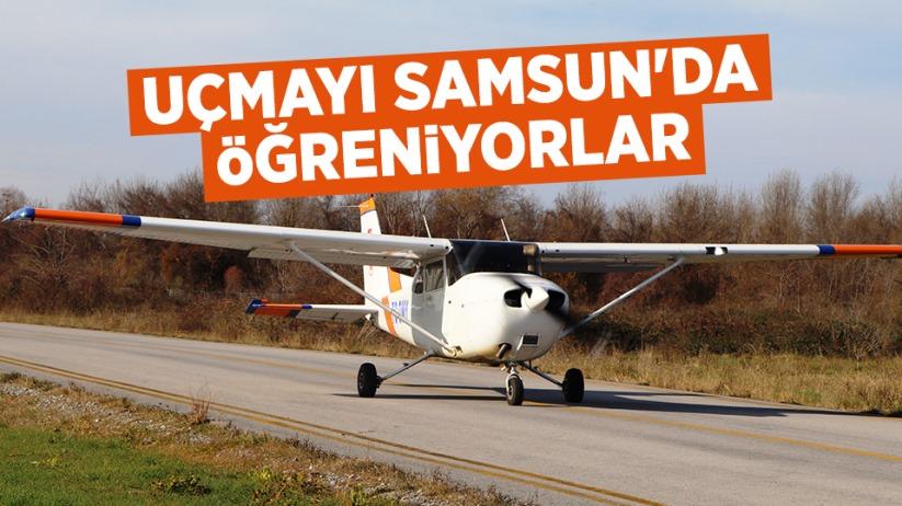 Geleceğin pilotları Samsunda yetişiyor