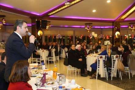 Başkan Eroğlu, 'Ak kadrolar güzel işlere imza atacak'