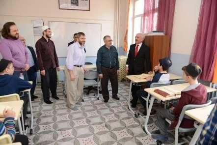 Başkan Gül, hafızlarla bir araya geldi
