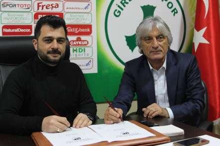 Giresunspor'da Kemal Kılıç resmen göreve başladı
