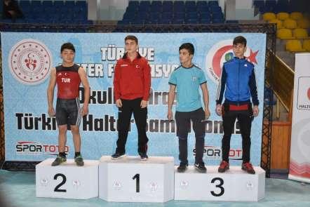 Okullar Arası Halter Gençler B Türkiye Şampiyonası başladı