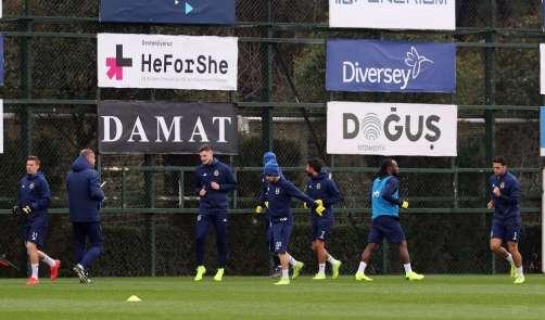 Fenerbahçe, Zenit maçı hazırlıklarına başladı