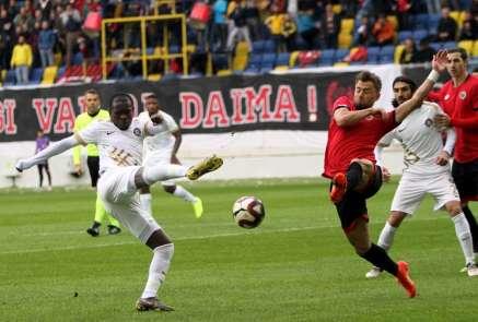 Spor Toto 1. Lig: Gençlerbirliği: 0 - Osmanlıspor: 2