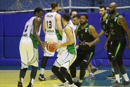 TBL 1. Ligi: Akhisar Belediyespor: 100 - Manisa Büyükşehir Belediyespor: 67