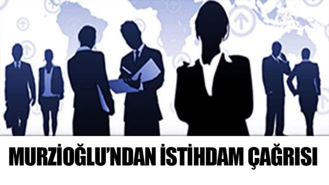 Murzioğlu'ndan iş dünyasına çağrı: 'İstihdam Seferberliği 2019'a katılın'