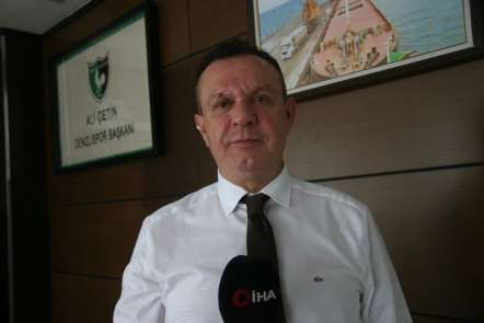 (Özel Haber) Denizlispor Başkanı Ali Çetin: 'Bu şehir artık Süper Lig'i özledi'