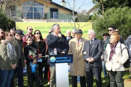 Sarıyer Belediyesi kansere yenik düşen Kadir Yiğit Bayraktar'ın adını ölümsüzleş