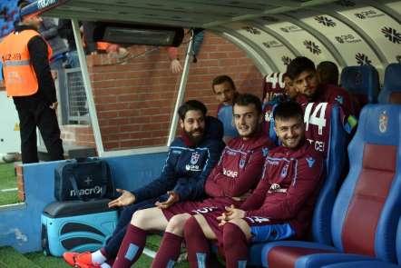 Spor Toto Süper Lig: Trabzonspor: 0 - Akhisarspor: 0 (İlk yarı)