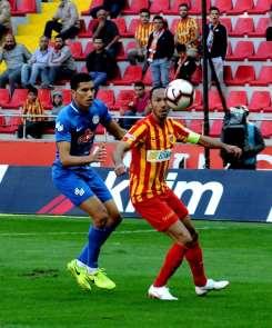 Rizespor ile Kayserispor 20. randevuda